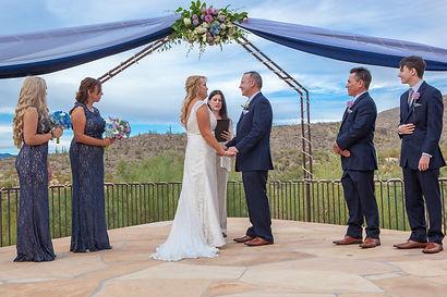 Tucson Arizona wedding officiant