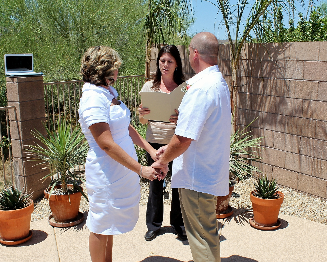 tucson wedding officiant, minister