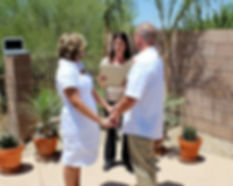 Tucson wedding officiant, Tucson wedding minister.