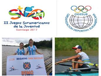 Representantes del Litoral en los II Juegos Suramericanos de la Juventud – Santiago 2017