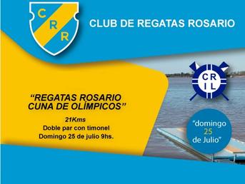 """Encuentro Club de Regatas Rosario """"Cuna de Olímpicos"""""""
