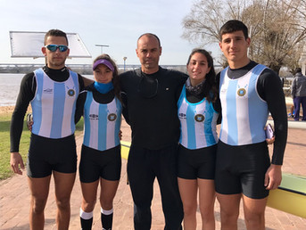 Remeros del Litoral en los World Rowing Junior Championships 2017