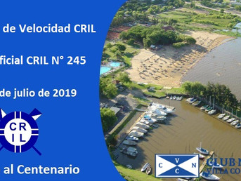 VII Regata de Velocidad CRIL y Regata Oficial CRIL Nº 245