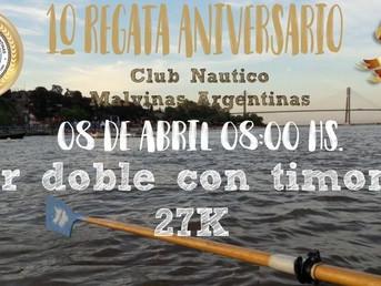 """Regata de Travesía """"Aniversario"""" del Club Náutico Malvinas Argentinas"""