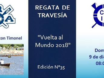 """Regata de Travesía """"Vuelta al Mundo"""" del Club Remeros Alberdi - Edición Nº 35"""