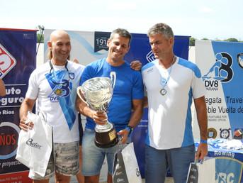 """Resultados de la Regata de Travesía """"Doble Vuelta del Ocho"""" del Paraná Rowing Club"""