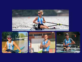 Cuatro atletas del Litoral participarán en los 2021 World Rowing Under 23 Championships