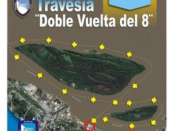 """Orden de largada de la Regata de Travesía """"Doble Vuelta al Ocho"""" del Paraná Rowing Club"""