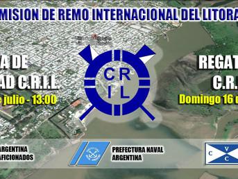 Programas nominales de la IV Regata de Velocidad CRIL y de la Regata Oficial CRIL Nº 240