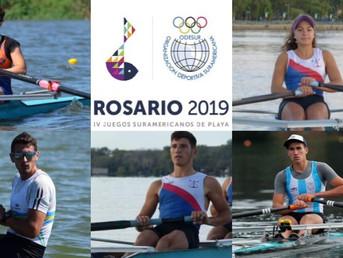 5 atletas del Litoral participarán de los IV Juegos Suramericanos de Playa, Rosario 2019