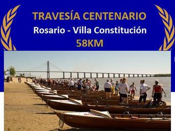 """Regata de Travesía """"Centenario"""" de la Comisión de Remo Internacional del Litoral"""