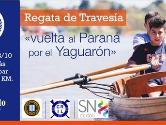 """Regata de Travesía """"Vuelta al Paraná por el Yaguarón"""" del Club de Regatas San Nicolás"""