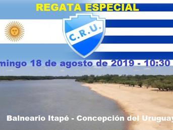 """Regata Especial """"115° Aniversario"""" del Club Regatas Uruguay"""
