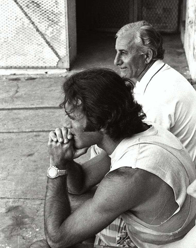 Don Mario Robert con Alberto Demiddi