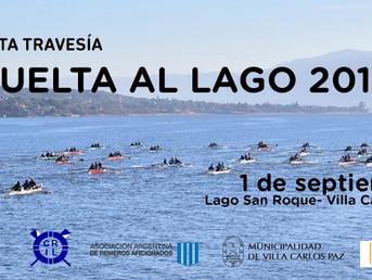 """Orden de largada de la Regata de Travesía """"Vuelta al Lago"""" de la Asociación Cordobesa de Remo"""