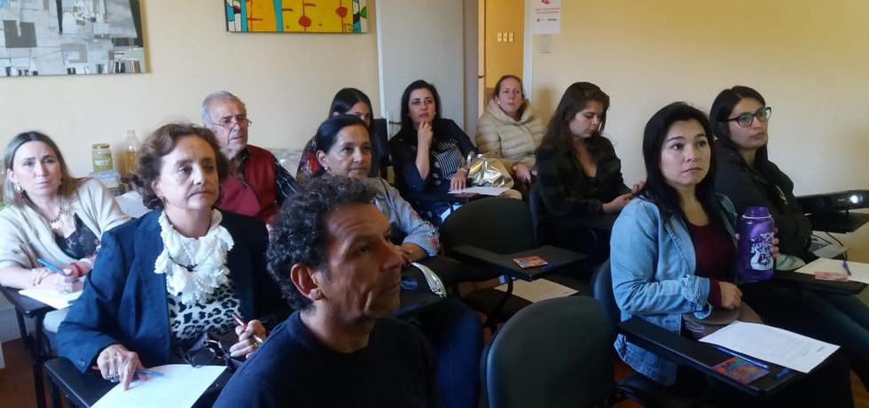 Grupo de asistentes