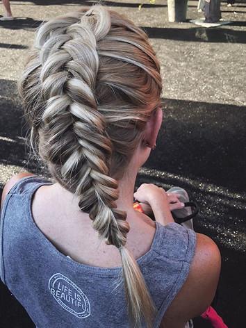 fun fishtail braid