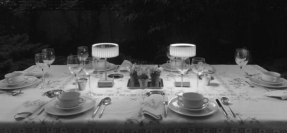 TEIA LAMP. Lámpara de sobremesa inalámbrica