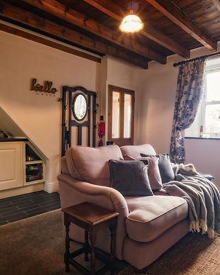 Owl Cottage Living Room