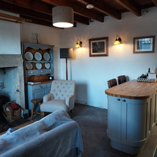 Lounge Dining Room Owl Cottage Teesdale.