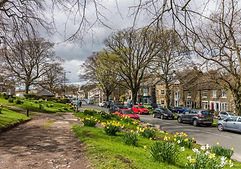 Middleton in Teesdale high street