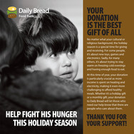 Daily Bread Food Bank Holiday Fundraiser