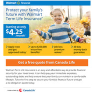 Walmart Financial Life Insurance