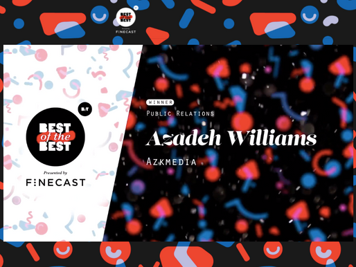 AZK Media Founder Wins B&T Best of the Best Award for Public Relations