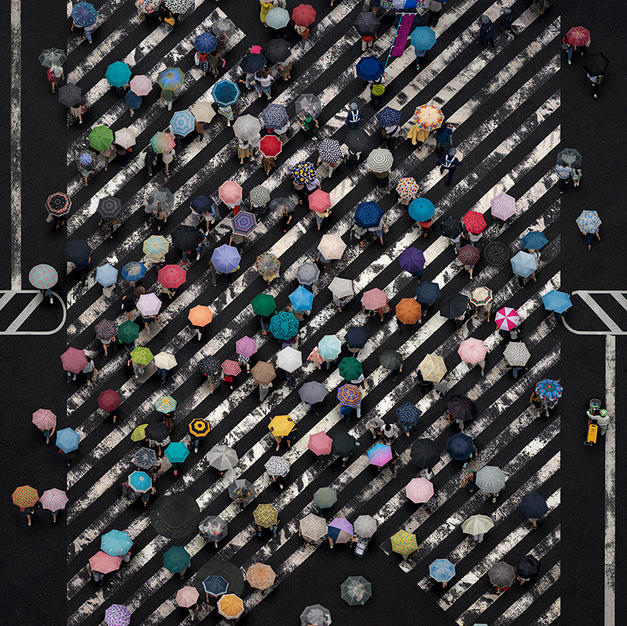 Umbrella crossing V