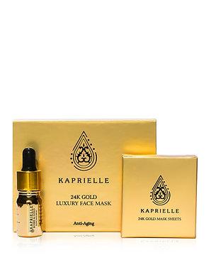 24K Gold luxury face mask- KAPRIELLE