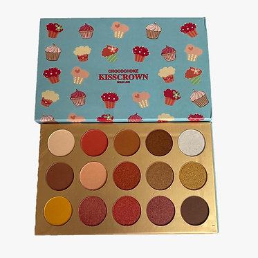 Paleta Chocochoke x 15 colores - Kiss crown
