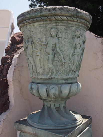Grand vase avec socle