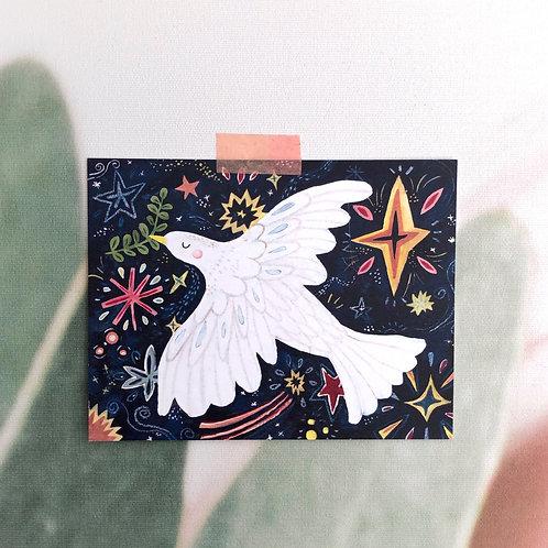 Starry Night Dove