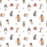 Friends of the Forest Pattern