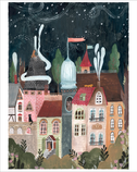 Whimsical town