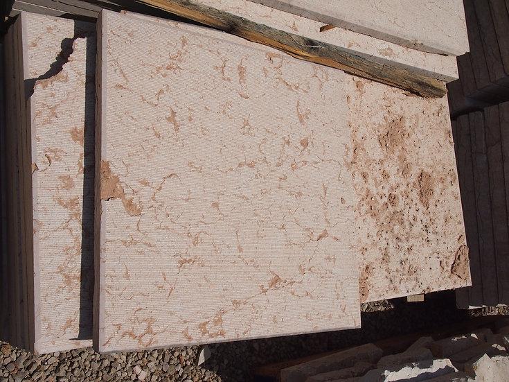 Dallage 50x100cm pierre de Verone Rose