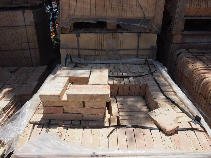 Brique terre cuite 22x12x5cm