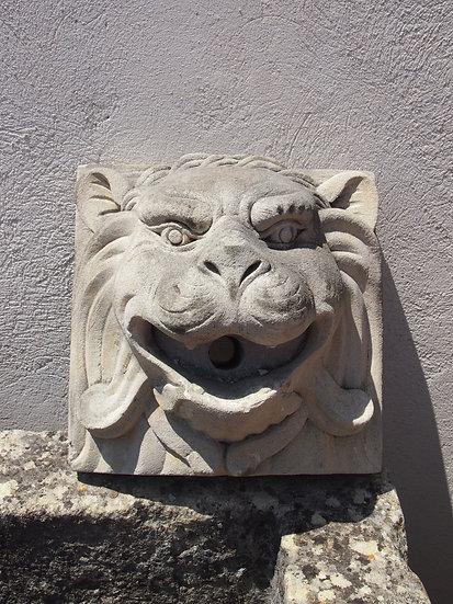 Ornement de fontaine - Lion