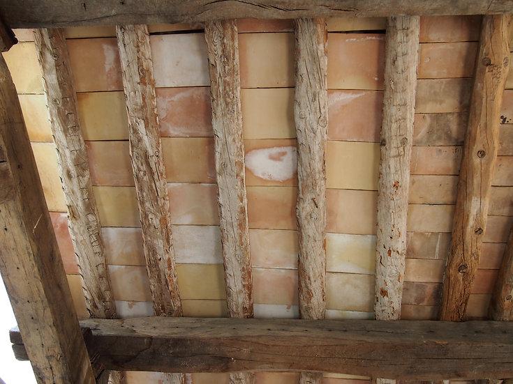 Parefeuille posé avec vieux bois