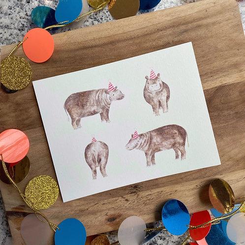 Pygmy Hippo party