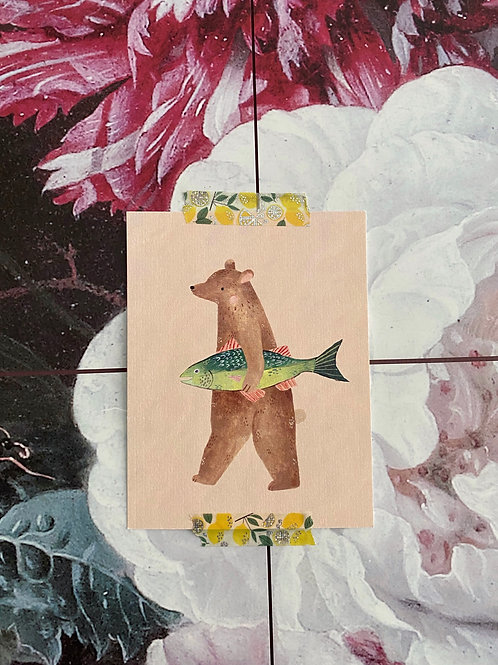 Bear and his Fish