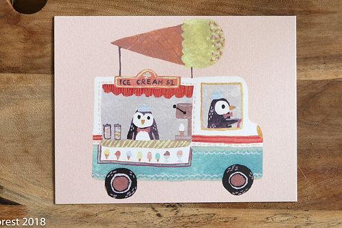 Penguin Ice Cream Truck