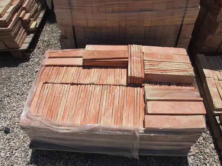 Plinthes terre cuite 30x7cm