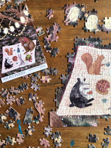 Nighttime Tea Party 500pc puzzle
