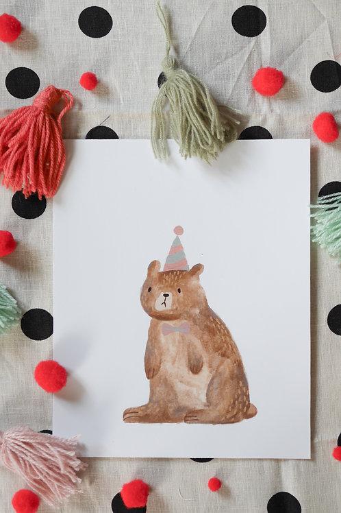 Party Bear (white)