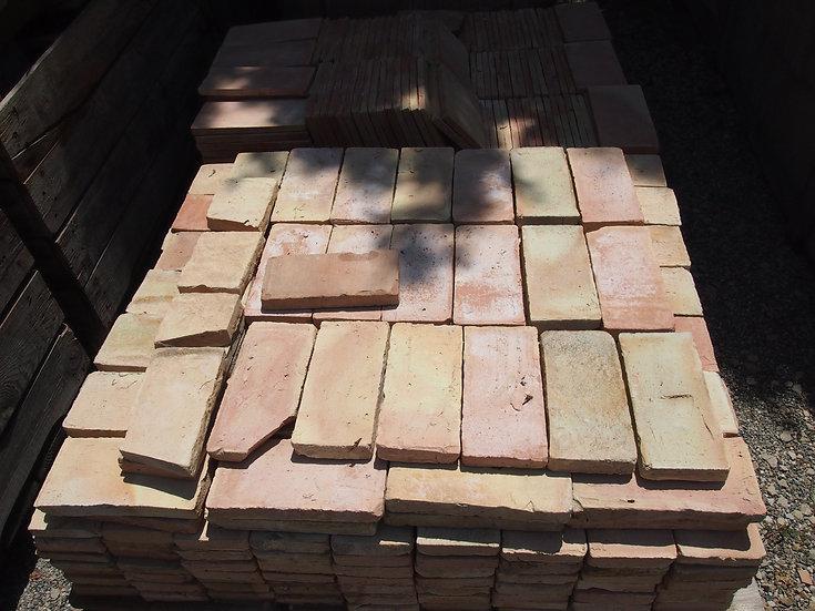 Brique terre cuite 22x12x3cm