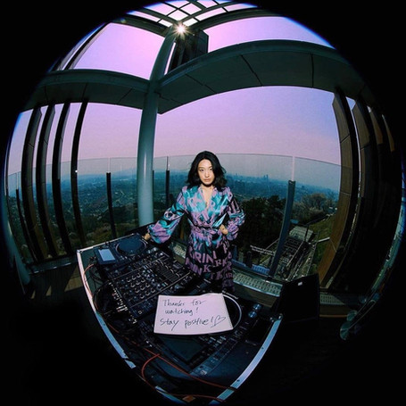 Peggy Gou presents her isolation session from the highest point in Seoul