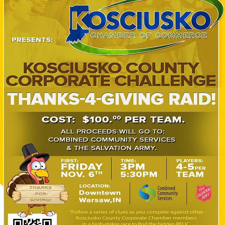 Kosciusko County Corporate Challenge