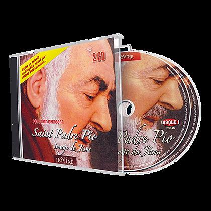 Saint Padre Pio, image de Jésus