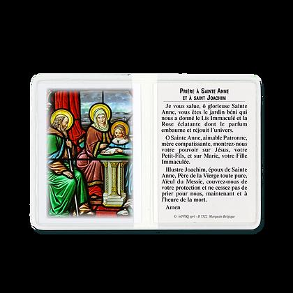 Étui sainte Anne et saint Joachim